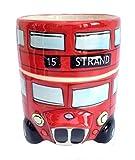 Londres autobús rojo taza
