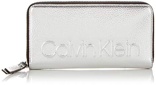 Calvin Klein - Edged Large Ziparound Met