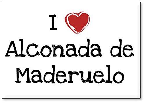 - Amo Alconada de Maderuelo, Imán para Nevera (diseño 2)