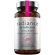 New Highly Enriched Collagen Supplement, Hyaluronic Acid, Vitamin C, Vitamin E & Cocoa - Skin Care Supplement for Women and Men Designed by an Anti-Ageing Expert   Marine Collagen, Not Inferior Bovine