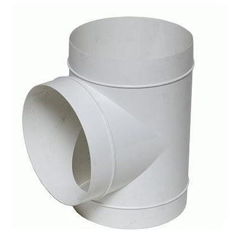 Union en T Vents PVC pour Extracteur d
