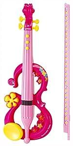 Bontempi- VE 4371 Disney Violín electrónico, Color Rosa (Nomaco