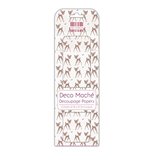 First Edition Deco Mache Fawn Repeat