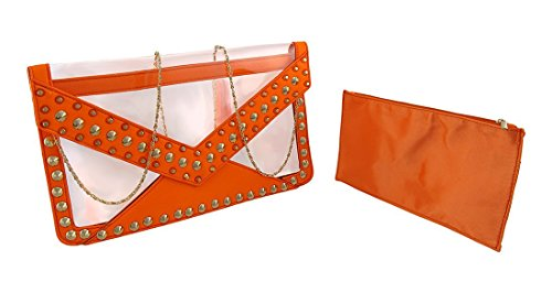 Things2Die4 - Borsetta senza manici donna Orange