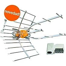 Kit 148902 Antena TV TELEVES Ellipse UHF 148910 + Fuente DE ALIMENTACIÓN TELEVES 579401. Canales