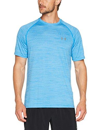 Under Armour Herren Ua Tech Ss Tee Kurzarmshirt, Mako Blue, XL (Tech-tees Loose-fit Heatgear)