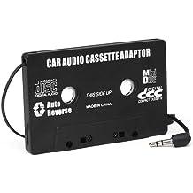 DIGIFLEX Adaptateur cassette autoradio pour MP3, iPod Nano, MD, iPhone noir