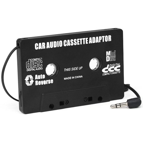DIGIFLEX Car Black Cassette tape Adaptor for MP3 iPod Nani CD MD 41BvnQBBbGL