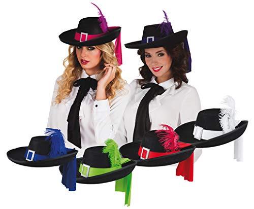 Inconnu Chapeau DE Mousquetaire Plus. Coloris