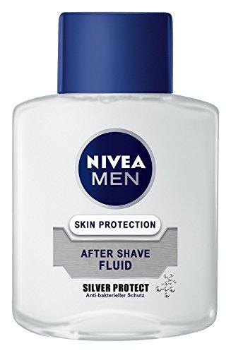 Nivea Men Silver Protect After Shave Fluid, 4er Pack (4 x 100 ml)