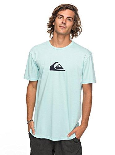 Quiksilver Classic Comp Logo - T-Shirt - T-Shirt - Männer - XL - Blau