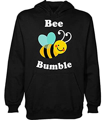Bee Bumble Awesome Flying Bee Design Men's Hoodie Pullover Pull à Capuche pour Hommes XX-Large