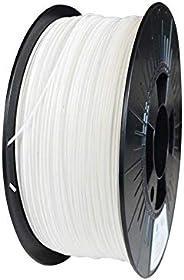 ECOFIL3D Filament 3D PLA,1.75 mm 1KG, Blanc