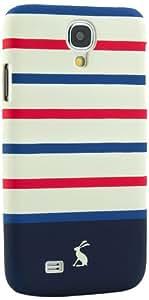 Joules Coque rigide pour Samsung Galaxy S4 Rayures rouges et bleues