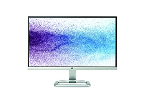 HP 22es 22 inch LED Monitor (1920 x 1080 Pixel Full HD (FHD) IPS 7 ms HDMI VGA) - Black and Silver
