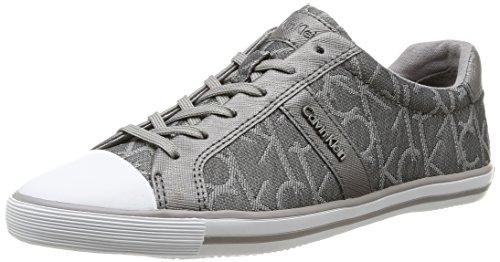 Calvin Klein Becca, Sneaker Donna Grigio (Ppe)