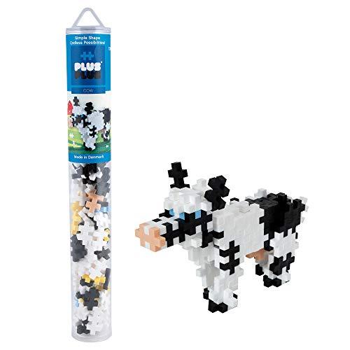 Plus-Plus 300.4118 Vaca 100 Piezas de Bloques de construcción de Tubo, Mezclado, estándar
