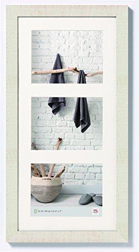 W Home Holzrahmen, 3 x 13 x 18 cm, cremeweiß ()