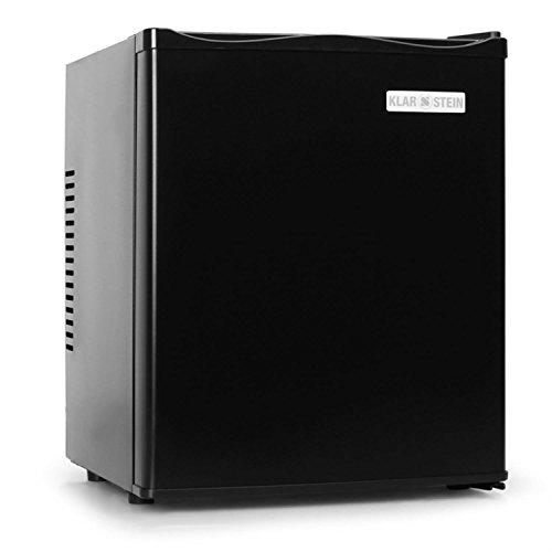 Klarstein MKS-10 nevera (mininevera, 24 litros, funcionamiento silencioso, clase energética B, tirador uñero, fácil limpieza) -