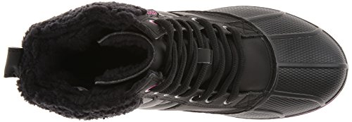 CrocsAllcast Waterproof Duck Boot W - Stivali Donna Nero (Black/Viola)