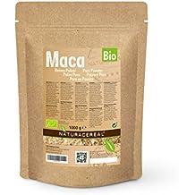 Maca Cruda en Polvo Orgánico 1000g (1 x 1kg) de NATURACEREAL