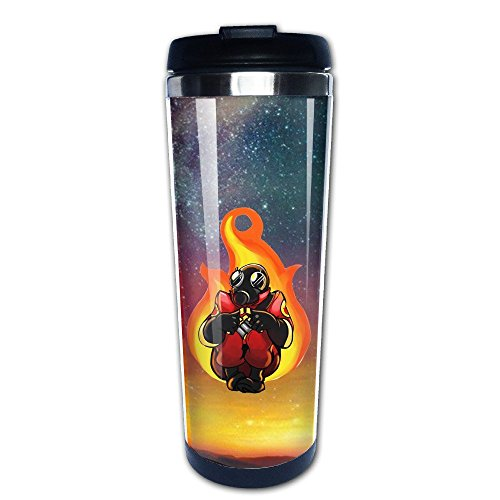 Team Fortress 2 Pyro Coffe Mug/Tazas de desayunos/Travel Mug/Tazas de desayunos/Vacuum Cup (Team Fortress Pyro)