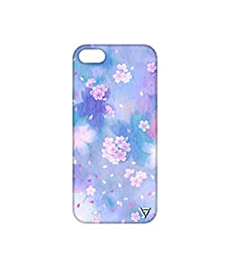 Vogueshell Flower Pattern Printed Symmetry PRO Series Hard Back Case for Apple iPhone 5