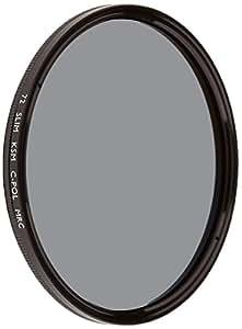 B%W Filtre polarisant circulaire Käsemann Slim 72 E MRC (Import Allemagne)