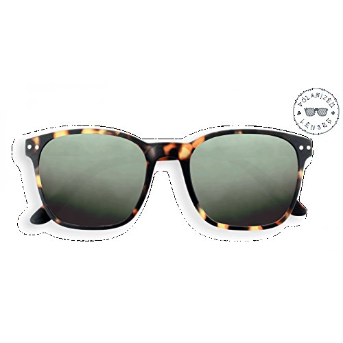 Izipizi (See Concept) Letmesee Sun Nautic Tortoise: Sonnenbrille mit polarisierten Gläsern - ohne Korrektur - Schutz 100% UV Kategorie 3