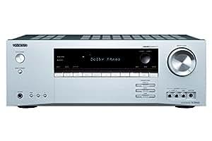 Onkyo TX-SR444 (S) 7.1-Kanal Heimkinoreceiver (Dolby Atmos, DTS-HD, 4K, Ultra HD, HDCP 2.2, Bluetooth, 100 Watt, Raumeinmessung) Silber