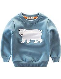 K-youth Sudadera para Niños - Sweat Shirt Sudadera Niñas Ropa Bebe Niña Otoño Invierno