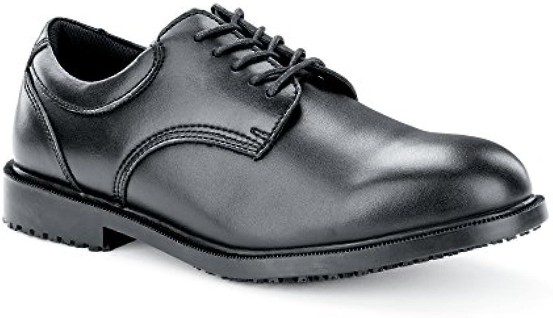 Shoes for Crews Steel Toe Cambridge Calzado de Protección Hombre, Negro (Black), 44 EU