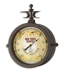 TFA 60.3011 Nostalgie Wanduhr und Thermometer