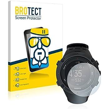 BROTECT AirGlass Protection Verre Flexible pour Suunto Ambit3 Peak Black Film Vitre Protection Écran - Dureté 9H