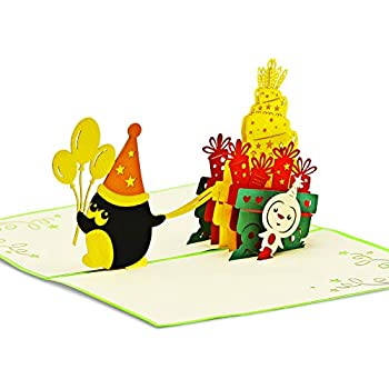 Forever Pop Up 3D Karte Kinder Geburtstagskarte Geburtstag