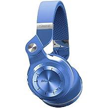 Bluedio T2 plus auriculares inalambricos bluetooth 4.1 con radio incorporada y ranura de tarjeta micro sd