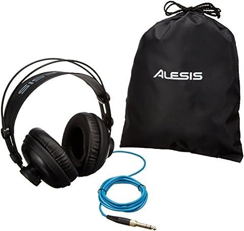 Alesis - SRP100 - Casque Audio de Référence avec Son Riche et Détaillé pour Monitoring Pro et Usage Quotidien - Noir