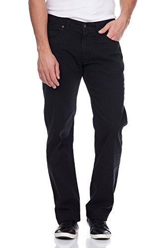 Oranjeans - Regular fit Jeans avec 5 poches Noir