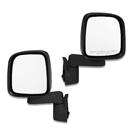 Bestop 51261-01 HighRock Black Full Door Replacement Mirror by Bestop