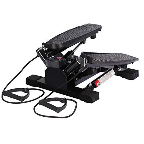 LY-01 Stepper Aerobe Übung Stepper Machine mit Widerstand Bands für Cardio Toning Übungen - Es kann für Familie, Fitnessstudio und am Arbeitsplatz verwendet Werden.