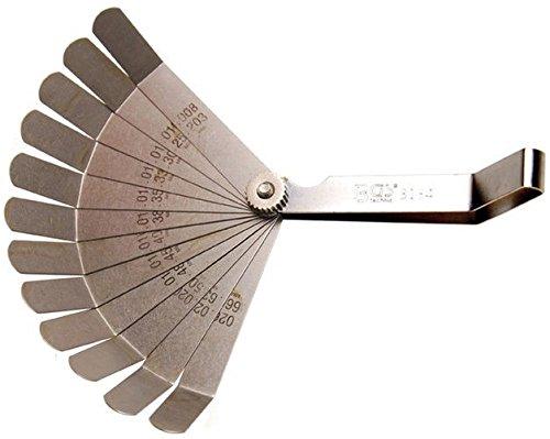 BGS technic PRO+ - Galga de espesores (12 hojas curvadas)