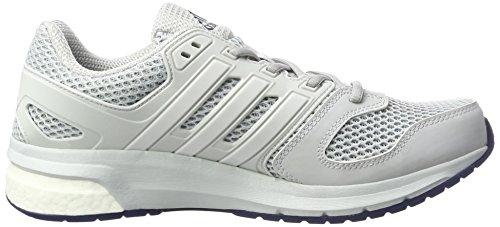 adidas Herren Questar Laufschuhe Grau (Clear Grey/Ftwr White/Mystery Blue)