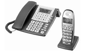 aeg cosi 1856 t l phone filaire avec r pondeur 1 combin. Black Bedroom Furniture Sets. Home Design Ideas