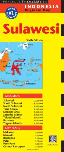Sulawesi Travel Map: 6 (Periplus Travel Maps: Indonesia Regional Map)