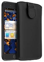 mumbi Étui cuir pour iPhone 7 Plus Noir