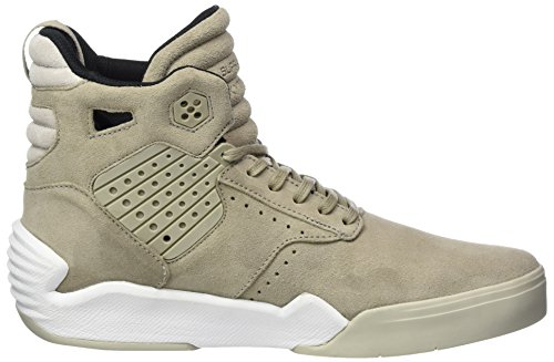 Grün Skytop High Herren Olive Khaki Supra Top Sneaker White dwxF5EYqXY