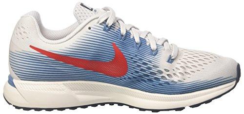 Nike Herren Air Zoom Pegasus 34 Laufschuhe Grau (Vast Grey/university Red/aegea 016)