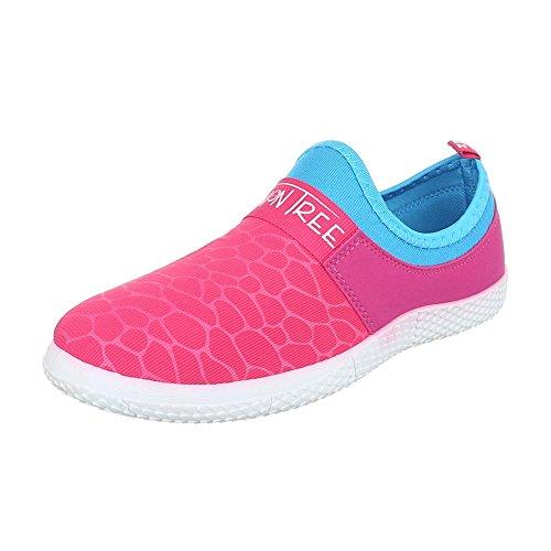 Chinelo Rosa Sapatos Baixos top Baixo Femininos Ital design Sapatos aTS5qwn