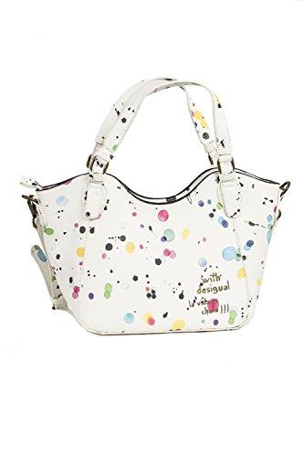 sac desigual 71x9ex9 rotterdam mini new splatt blanc