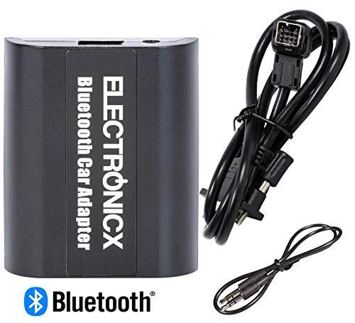 Electronicx Elec-BTA-CLAR Digitaler Musikadapter AUX, Bluetooth Freisprecheinrichtung CD-Wechsler MP3-Player für Clarion - Stereo Clarion Bluetooth
